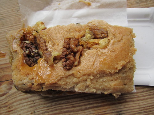 Vegan Walnut Pear Square from ufaBäckerei