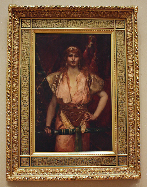 Judith by Jean-Joseph Benjamin-Constant