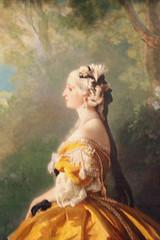 The Empress Eugénie (Eugénie de Montijo, Condesa de Teba) by Franz Xaver Winterhalter (peterjr1961) Tags: newyorkcity newyork art themet metropolitanmuseumofart