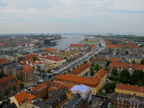 The City from Above - Copenhagen, Denmark