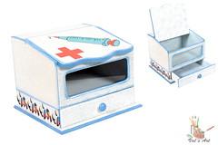 Farmacinha (Vals Art (19) 9621-6080 val.maule@uol.com.br) Tags: mdf decoupage farmacinha