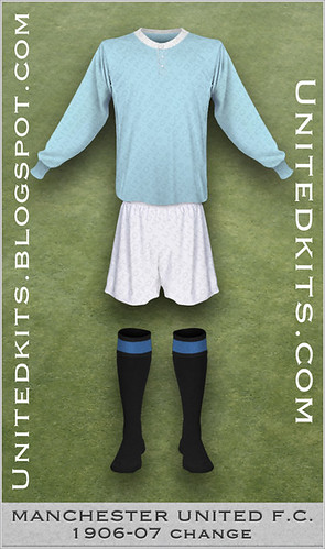 Manchester United 1906-1907 Change kit (possible)