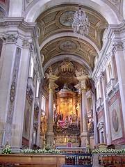 Main altar in Bom Jesus do Monte Church
