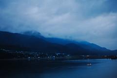 dawn in Alaska (vl8189) Tags: ocean city cruise blue sunset sky cloud sun mountain lake mountains grass alaska clouds plane sunrise rising dawn town twilight nikon place time united before juneau hide states rise risen setting range d40 mywinners