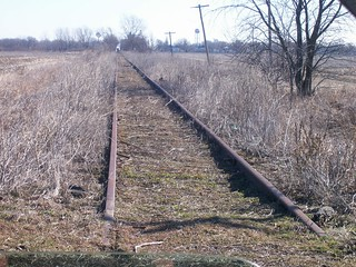 Bloomer Line - North end of trackage.