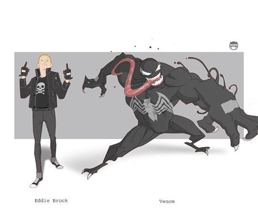 Kizer,  Venom - Edie Brock