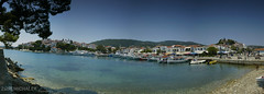 Skiathos kikt panorma / Skiathos harbour panorama (Zsolt Michalek) Tags: travel blue sea panorama holiday beach canon landscape eos boat 300d harbour ps greece filter 1855mm amateur skiathos tenger tengerpart seacoast kikt cokin utazs nyarals panorma nd4 haj cs5 grgorszg szr