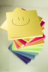 Colorlicious (Shakir's Photography) Tags: pink blue red color green yellow purple notes sticky pad note stick        colorlicious