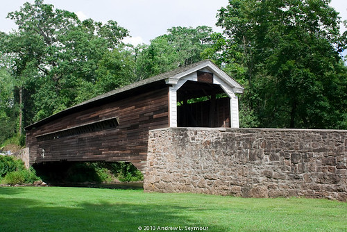 Rapps Covered Bridge (Exterior Long View) 016