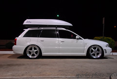 DSC_2701 (sparkyvw) Tags: white b5 roofbox audi s4 rs4 dubkorps