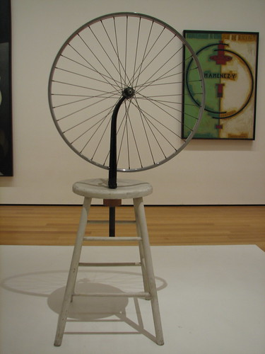 Marcel Duchamp Bicycle Wheel (1951, MoMA)