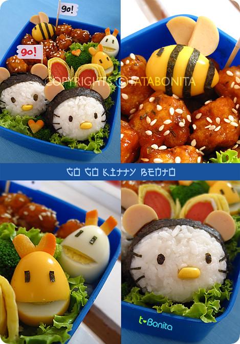 Go Go Kitty Bento 2