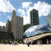 Chicago (ILL), Millennium Park, Cloud Gate :