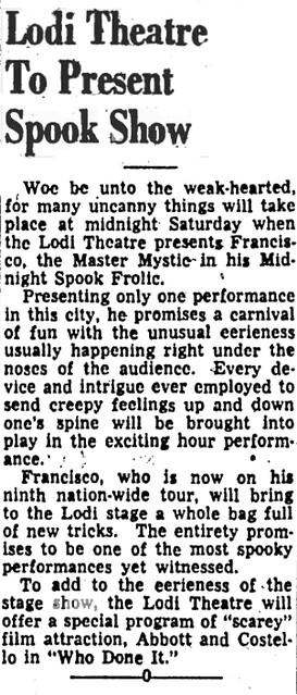 1950 Lodi News Sentinel
