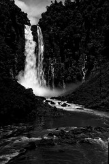 Majestic Maria Cristina (ms|photography) Tags: white black water monochrome canon landscape waterfall maria cristina philippines grand falls filter majestic cpl mindanao 24105 iligan nd8 400d