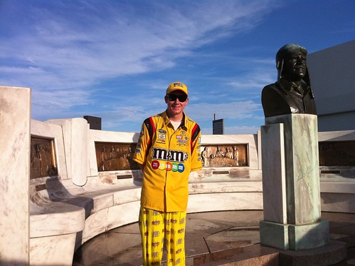 Fan of the Day- Race Day Brickyard 400