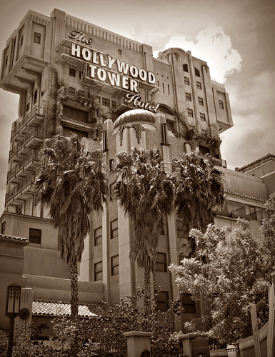 Tower of Terror Sepia