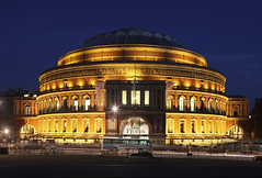 London Royal Albert Hall (david.bank (www.david-bank.com)) Tags: uk england music london architecture concert royalalberthall twilight dusk bbc bluehour proms