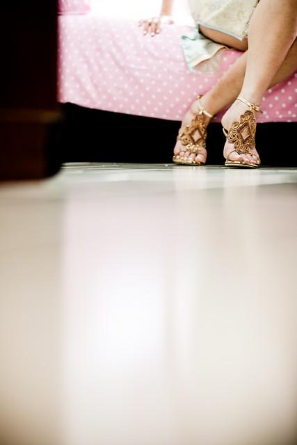 details - heels