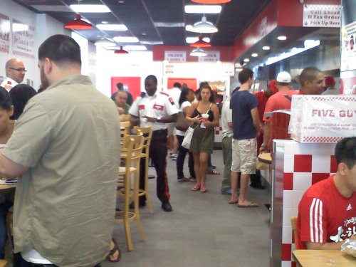 Five Guys Opening Day Shot 1 resize