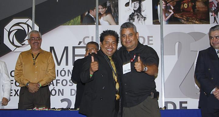 Con Mario Herrera