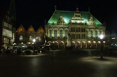 Rathaus (donD73) Tags: deutschland bremen germania notturno brema