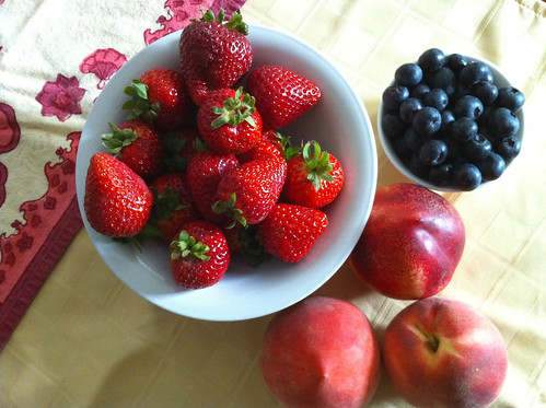 Farmers Market fruit, yum