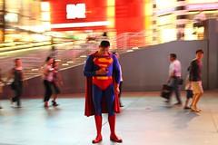 This summed up our visit to Vegas (Im-dduba) Tags: life travel las vegas night superman strip