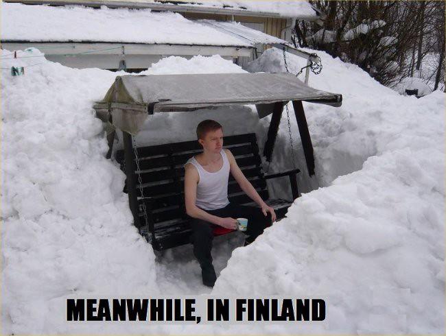 Mientras tanto, en Finlandia...