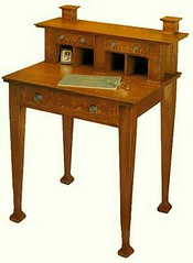 Mackmurdo desk (The-Voice) Tags: stickley artsandcraftsera historyofadvertising