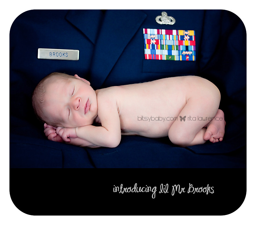 newborn brooks USAF