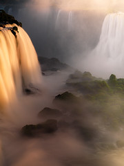 The Gates of Calypso II by Michael Anderson (AndersonImages) Tags: sunset brazil mist southamerica argentina brasil waterfall rainforest jungle michaelanderson iguazufalls fozdoiguacu cataratasiguacu