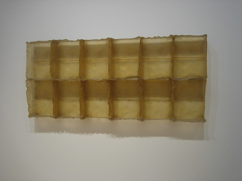 Sans II, 1968, Fiberglass and polyester resin, Eva Hesse, 1936-1970 // 75th Anniversary Show, SFMOMA _6737