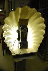 Shell pay phone, Museum of Communications, Seattle, WA