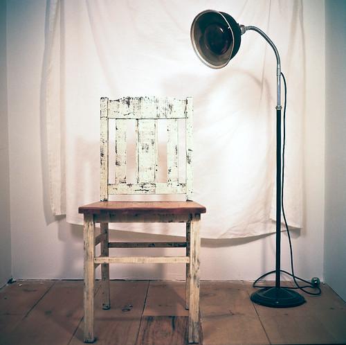 old light 120 mamiya film weathered antiques floorlamp heatlamp barnlightelectric farmchair