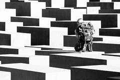 Why (Al Fed) Tags: berlin deleteme9 soldier holocaust memorial savedbythedeletemegroup saveme10 explore german killed why jews knee frontpage memorialtothemurderedjewsofeurope saveme11 warum lichtblick
