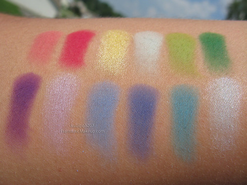 MAC Dare to Wear Eyeshadow Swatches