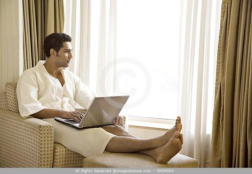 Indian male feet