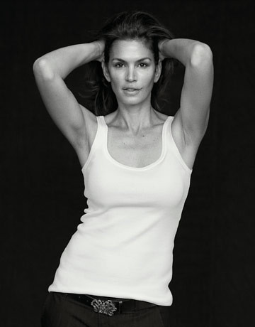Cindy Crawford by Peter Lindberg - via Harpers Bazaar