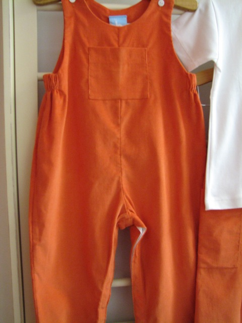 Orange overall Bliss