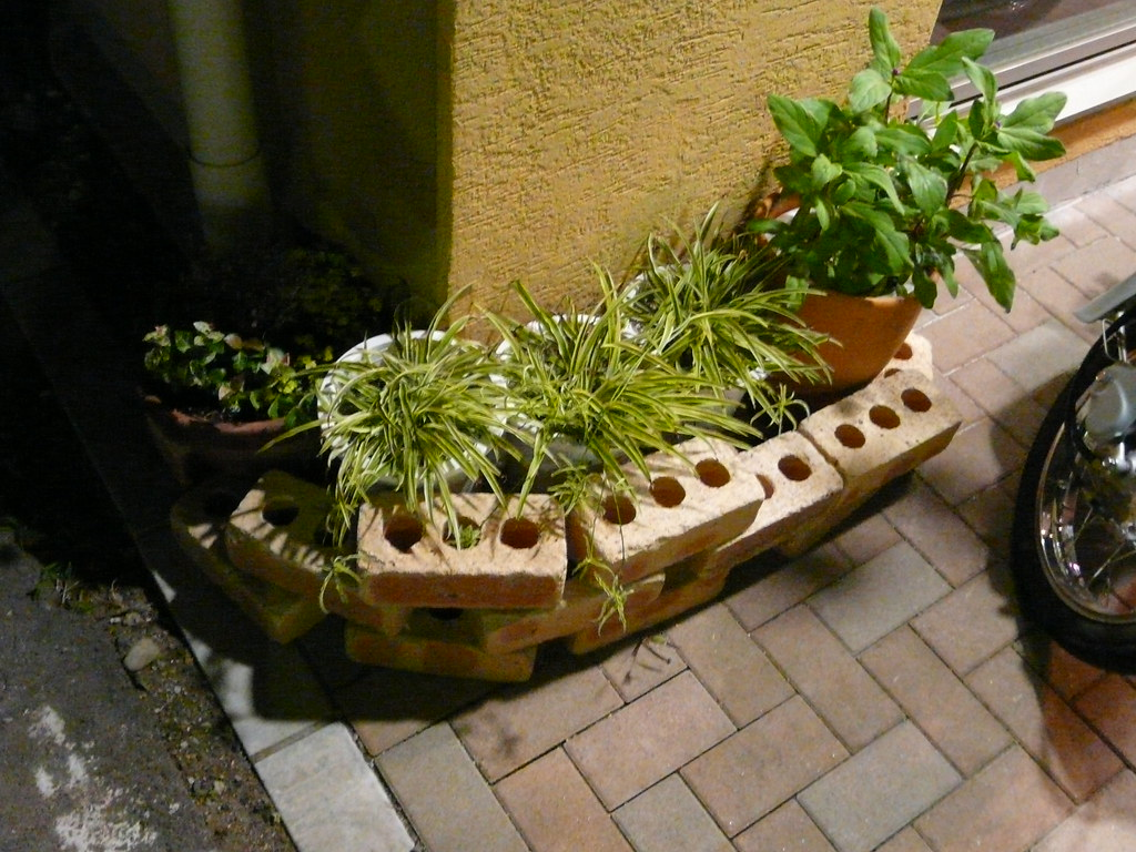 Planter in Bricks