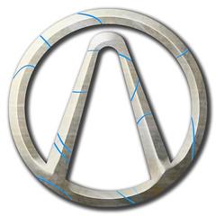 The Vault (Collin Caley) Tags: emblem logo video border games lands