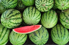Water Melon (Mel s away) Tags: china red green fruit yummy cool watermelon mel melinda   jiaoling  chanmelmel melindachan