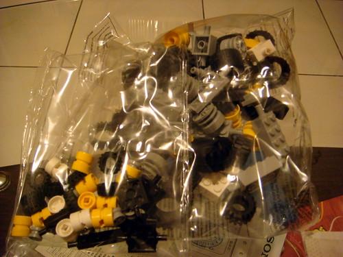 Lego 6118 【創意補充裝- 車輪】