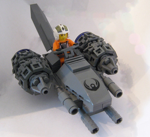 The Steel Falcon Air Speeder