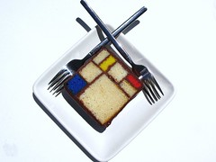 "Mondrian Cake ""Composition in Red,Blue and Yellow"", 1930 @ SFMoMA, Blue Bottle Coffee (slowpoke_taiwan) Tags: sanfrancisco blue red white art rooftop coffee yellow cake museum modern bar composition garden caitlin dessert bottle cafe artistic chocolate treats sfmoma velvet chef pastry co sweets soma mondrian freeman artworks coffeebar bluebottle rooftopgarden pietmondrian sanfranciscomuseumofmodernart bluebottlecoffee bluebottlecoffeeco pastrychef southofmarketstreet whitevelvetcake caitlinfreeman mondriancake rooftopcoffeebar pastrychefcaitlinwilliamsfreeman chefcaitlinfreeman artisticdesserts"