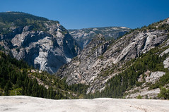 View from Nevada Fall Photo