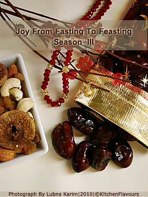Joy From Fasting To Feasting (Season-III)