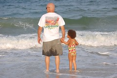 Wading with Pop-pop