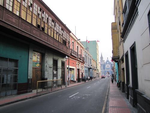 Calles de Lima Foto 3